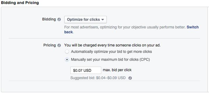 Facebook入札方法